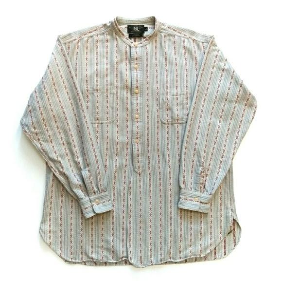 700c6ced Ralph Lauren RRL Button Down Dress Shirt Men's L. M_5c4a8dc603087c6820f2ebdf
